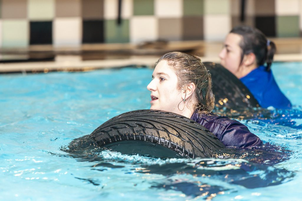 Aquabootcamp bij Ezzy's